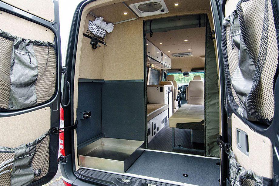 Tipos de ducha para furgoneta camper