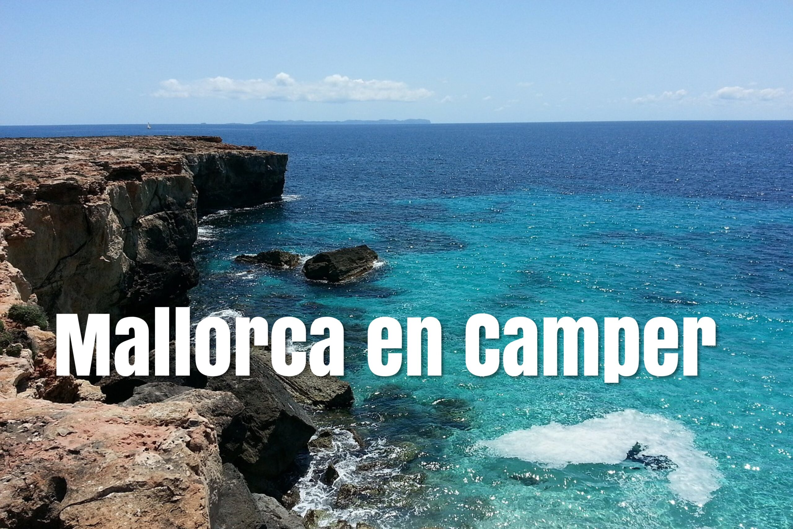 Mallorca en furgoneta camper o autocaravana