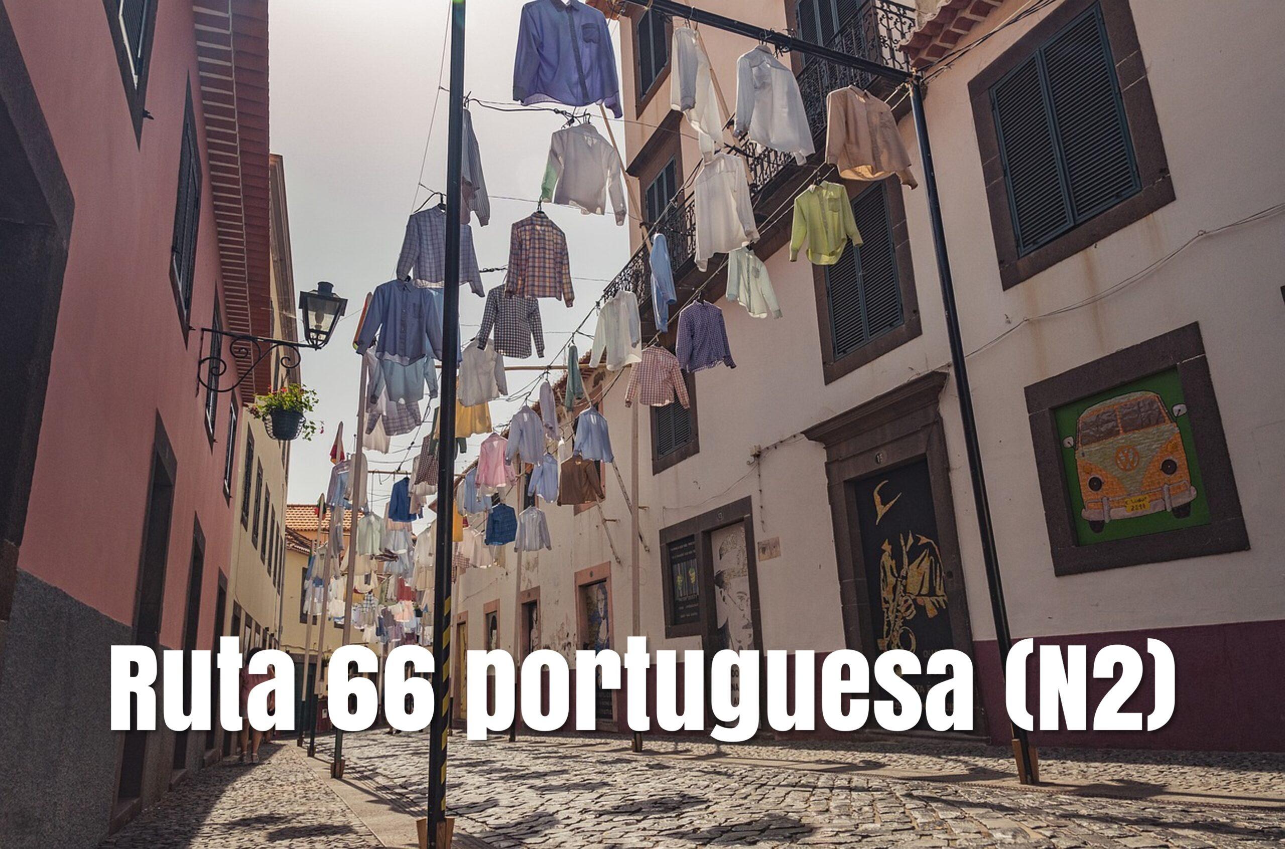 Ruta 66 portuguesa (N2) en camper o caravana